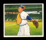 1950 Bowman Baseball Card #78 Mickey Owen Chicago Cubs. EX to EX-MT Conditi