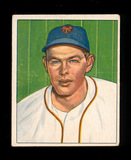 1950 Bowman Baseball Card #118 Clint Hartung New York Giants. EX to EX-MT+
