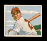 1950 Bowman Baseball Card #121 Andy Seminick Philadelphia Phillies. EX to E