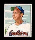 1950 Bowman Baseball Card #131 Steve Gromek Cleveland Indians. VG-EX to EX