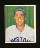 1950 Bowman Baseball Card #136 Warren Rosar Boston Red Sox. EX to EX-MT Con