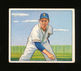 1950 Bowman Baseball Card #141 Joe Coleman Philadelphia Athletics. Glue Res