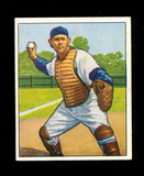 1950 Bowman Baseball Card #144 Al Evans Washinton Sentors. VG-EX to EX+ Con