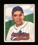 1950 Bowman Baseball Card #147 Mike Garcia Cleveland Indians. VG-EX to EX C