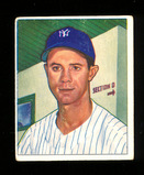 1950 Bowman Baseball Card #154 Gus Niarhos New York Yankees. VG-EX to EX Co