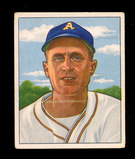 1950 Bowman Baseball Card #159 Joe Tipton Philadelphia Athletics. VG-EX to