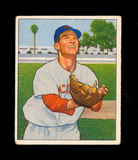1950 Bowman Baseball Card #173 Lloyd Merriman Cincinnati Reds. VG-EX to EX