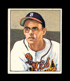 1950 Bowman Baseball Card #192 Bob Chipman Boston Braves. EX to EX-MT+ Cond