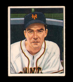 1950 Bowman Baseball Card #235 Harold Gilbert New York Giants. EX to EX-MT+