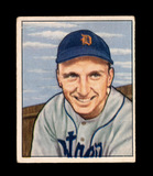 1950 Bowman Baseball Card #242 Dick Kryhoski Detroit Tigers. VG-EX to EX Co
