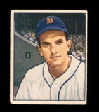 1950 Bowman Baseball Card #243 Johnny Groth Detroit Tigers. VG-EX to EX Con