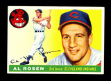 1955 Topps Baseball Card #70 Al Rosen Cleveland Indians. EX-MT to NM Condit