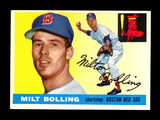 1955 Topps Baseball Card #91 Milt Bolling Boston Red Sox. EX-MT to NM Condi
