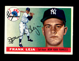 1955 Topps Baseball Card #99 Frank Leja New York Yankees . EX-MT to NM Cond