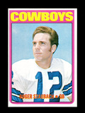 1972 Topps ROOKIE Football Card #200 Rookie Hall of Famer Roger Staubach Da