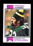 1973 Topps ROOKIE Football Card #89 Rookie Franco Harris Pittsburgh Steeler