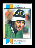 1973 Topps Football Card #400 Hall Of Famer Joe Namath New York Jets. EX to