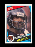 1984 Topps Football Card #228 Hall of Famer Walter Payton Chicago Bears. NM