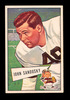 1952 Bowman Large Football Card #50 John Sandusky Cleveland Browns.  EX to