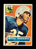 1956 Topps ROOKIE Football Card #120 Rookie Billy Vessels Baltimore Colts.