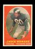 1958 Topps Football Card #35 Hall of Famer Chuck Bednarick Philadelphia Eag