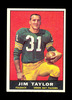 1961 Topps Football Card #41 Hall of Famer Jim Taylor Green Bay Packers. EX