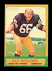 1963 Topps ROOKIE Football Card #96 Rookie Hall of Famer Ray Nitschke Green