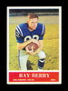 1964 Philadelphia Football Card #1 Hall of Famer Ray Berry Baltimore Colts.