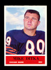 1964 Philadelphia Football Card #17 Hall of Famer Mike Ditka Chicago Bears.