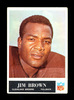 1965 Philadelphia Football Card #31 Hall of Famer Jim Brown Cleveland Brown
