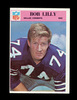 1966 Philadelphia Football Card #60 Hall of Famer Bob Lilly Dallas Cowboys.