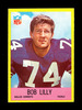 1967 Philadelphia Football Card #55 Hall of Famer Bob Lilly Dallas Cowboys.