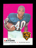1969 Topps Football Card #51 Hall of Famer Gale Sayers Chicago Bears. EX-MT
