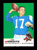 1969 Topps Football Card #75 Don Meredith Dallas Cowboys. EX to EX-MT+ Misc