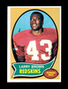 1970 Topps ROOKIE Football Card #24 Rookie Larry Brown Washington Redskins.