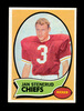 1970 Topps ROOKIE Football Card #25 ROOKIE Hall of Famer Jan Stenerud Kansa