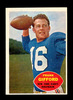 1960 Topps Football Card #74 Hall of Famer Frank Gifford New York Giants. E