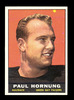 1961 Topps Football Card #40 Hall of Famer Paul Hornung Green Bay Packers.