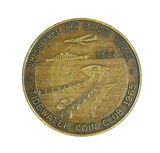 1964 Chesapeake Bay Bridge Tunnel Token/Coin. The Chesapeake Bay Bridge-Tun