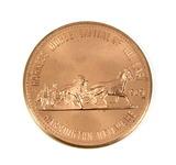 1969 Delaware Sate Fair Fiftieth Anniversary Coin/Token. Harness Horse Capi