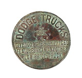Dodge Truck Depenability Features Save you Money Coin/Token. Give You More