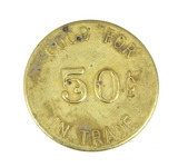 1872-1972 Sleepy Eye Minn. Centennial July 1-9 Coin/Token. Good For 50 Cent
