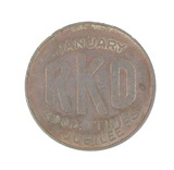 Vintage RKO (Radio, Keith, Orpheum) January Good Times Jubilee Coin/Token.