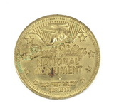 Death Valley National Monument Coin/Token. Souvenir of Death Valley Ca.
