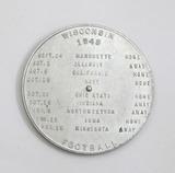 Vintage Aluminum Kingsbury Breweries Co. Manitowoc - Sheboygan Wis. Spinner