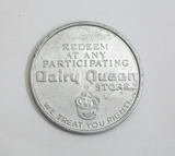 Dairy Queen Free Sundee Coin/Token. Redeem at any Participating Dairy Queen