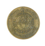 1914-1964 Souvenir Half Dollar 50th Anniversary of LaSalle County Ill. Farm