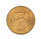 1970 Mississippi River Parkway Foundation (Great River Road) Coin/Token. Ca