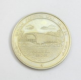 1880-1973 Madison County Bridge Festival Coin/Token. Covered Bridge Capitol