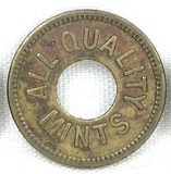 Vintage All Quality Mints Coin/Token. This Token Has No Value.  TC-277936.